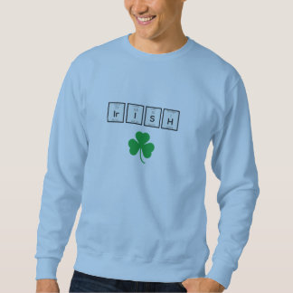 Sudadera Elemento químico irlandés Zf5yk