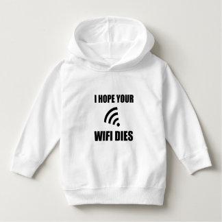 Sudadera Espere sus dados de Wifi