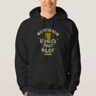 Sudadera Este piloto Best de señora Is The World's