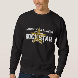 Sudadera Estrella del rock de la armónica por noche