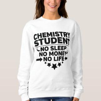 Sudadera Estudiante universitario de la química ninguna
