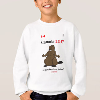 Sudadera Fiesta del castor de Canadá 150 en 2017