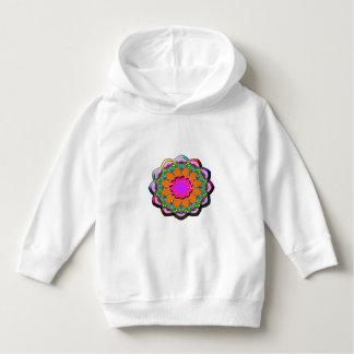 Sudadera Flor abstracta colorida