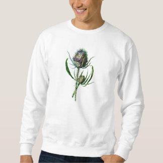 Sudadera Flor salvaje de la antigüedad del cardo del
