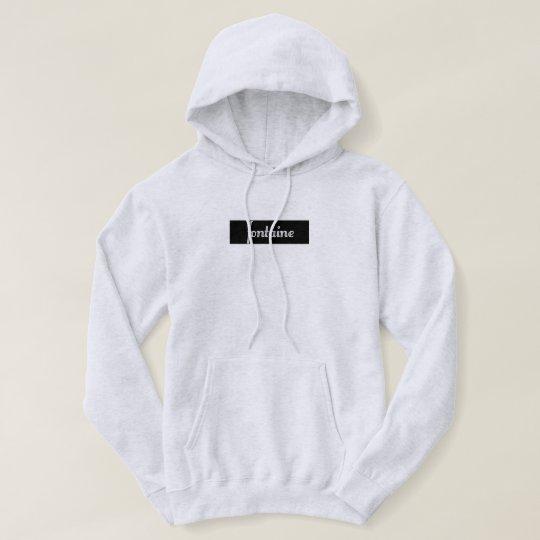 Sudadera Fontaine hoodie (Black)