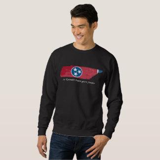 Sudadera Forma del estado de Tennessee/camiseta de la