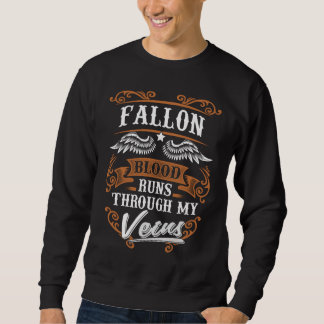 Sudadera Funcionamientos de la sangre de FALLON con mi