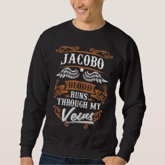 Sudadera Funcionamientos de la sangre de JACOBO con mi
