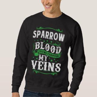 Sudadera Funcionamientos de la sangre del GORRIÓN con mi