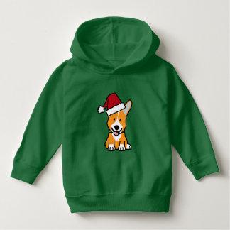 Sudadera Gorra de Santa del navidad Galés del Pembroke del
