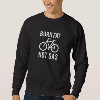 Sudadera grasa de la quemadura, no gas