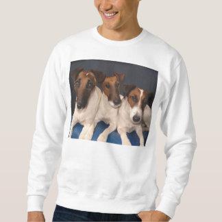 Sudadera grupo liso del fox terrier