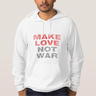 Sudadera Guerra del amor no