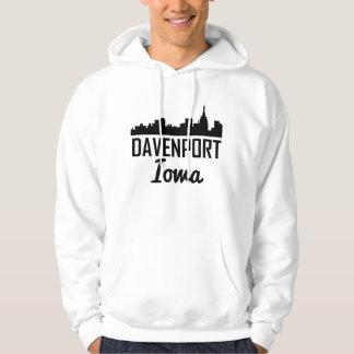 Sudadera Horizonte de Davenport Iowa