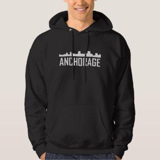 Sudadera Horizonte de la ciudad de Anchorage Alaska