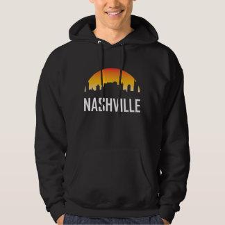 Sudadera Horizonte de la puesta del sol de Nashville
