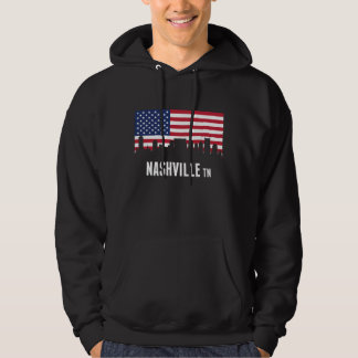 Sudadera Horizonte de Nashville de la bandera americana