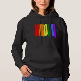 Sudadera Horizonte del orgullo gay de Charleston Carolina