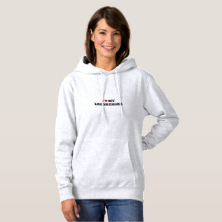 Sudadera I corazón mi Leonberger