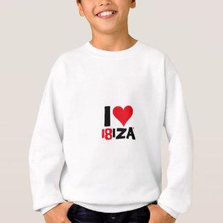 Sudadera I love Ibiza 18IZA Edición Especial 2018