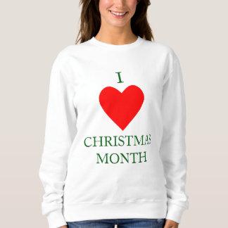 Sudadera I mes del navidad del corazón