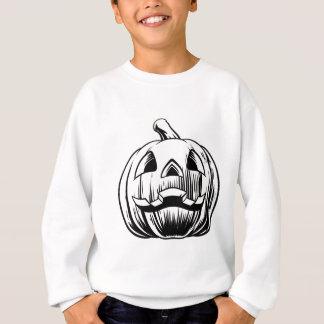 Sudadera Ilustracion de la calabaza de Halloween