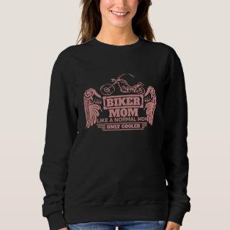 Sudadera Impresión del rosa de la motocicleta de la mamá