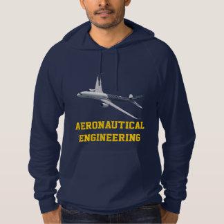 Sudadera Ingeniería aeronáutica adaptable