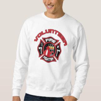 Sudadera Insignia moderna del bombero voluntario