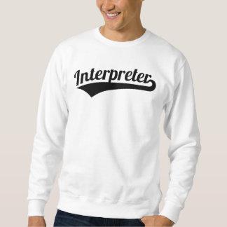 Sudadera Intérprete