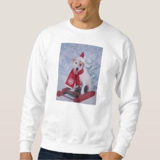 Sudadera Jack Russell Terrier - el ayudante de Santa