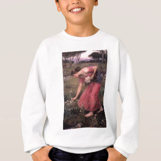 Sudadera John William Waterhouse - narciso - bella arte
