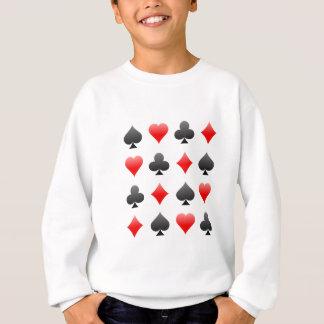 Sudadera Juegos de la tarjeta de la veintiuna/del póker: