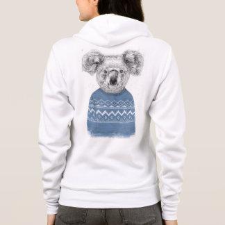 Sudadera Koala del invierno