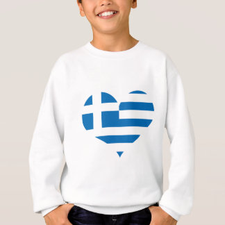 Sudadera La bandera nacional de Grecia