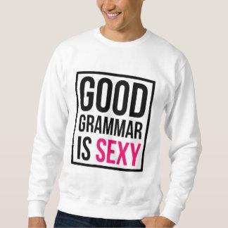 Sudadera La buena gramática es atractiva