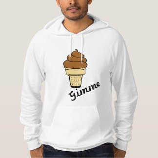 Sudadera La comida dulce del helado personaliza destinos