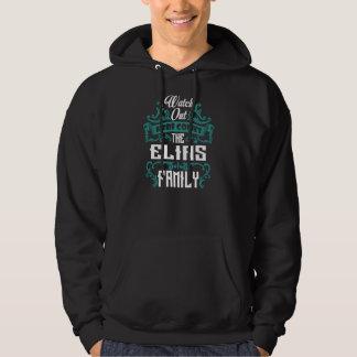 Sudadera La familia de ELIAS. Cumpleaños del regalo