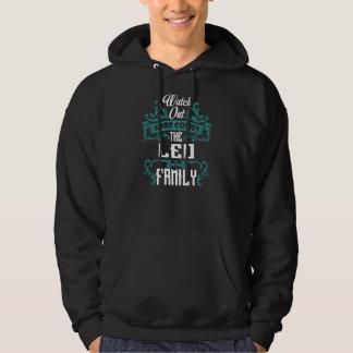 Sudadera La familia de LEO. Cumpleaños del regalo