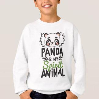 Sudadera La panda linda es mi estampado de animales del