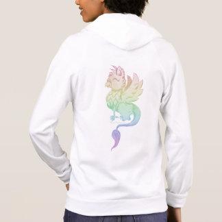 Sudadera Las mujeres del grifo del arco iris relampagan