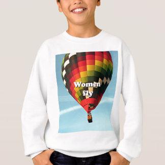 Sudadera Las mujeres vuelan: globo del aire caliente