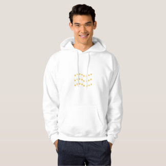 Sudadera Líneas onduladas de oro elegantes diseño