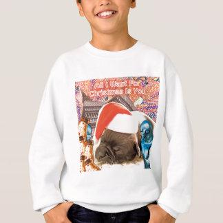 Sudadera Lo único que quiero para el navidad es usted