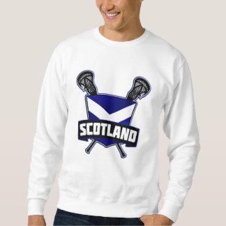 Sudadera Logotipo de LaCrosse del escocés