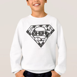 Sudadera Logotipo negro de Supergirl Argyle