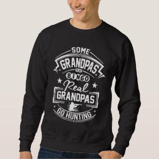 Sudadera Los abuelos reales van a cazar