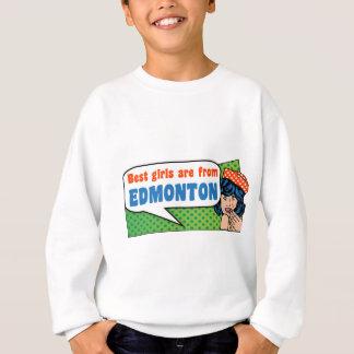 Sudadera Los mejores chicas son de Edmonton