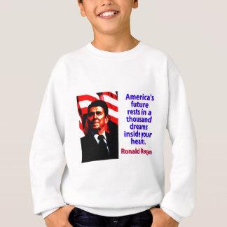 Sudadera Los restos futuros de América - Ronald Reagan