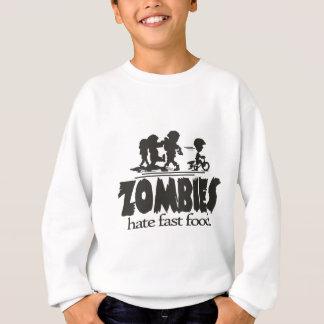 Sudadera Los zombis odian los alimentos de preparación